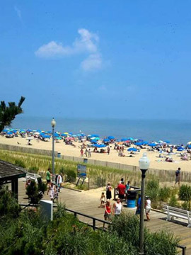 Boardwalk Plaza Hotel Webcam, Rehoboth Beach DE