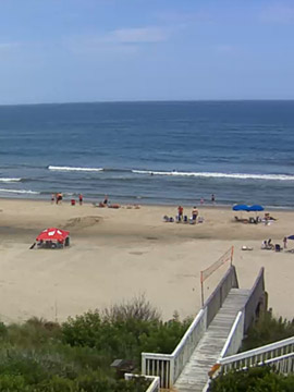 Whalehead Beach Webcam in Corolla NC, Outer Banks NC