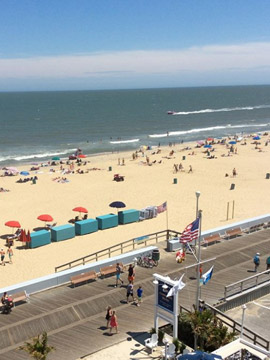 Commander Hotel Boardwalk Webcam, Ocean City Maryland