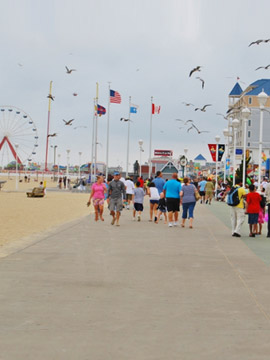 Ocean City Boardwalk Live Cam