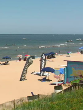 Happy Winds KiteBoarding & Water Sports Live Webcam