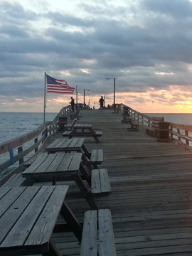 Nags Head Fishing Pier Webcam, Outer Banks NC