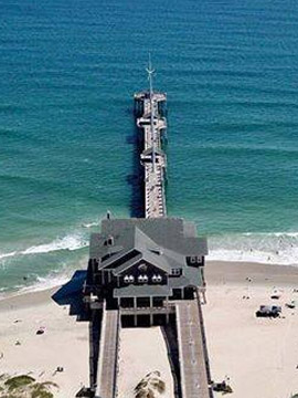Jennette's Pier Surf Cam Nags Head, Outer Banks NC