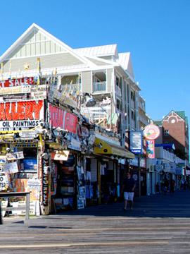 Ocean Gallery Boardwalk Cam, Ocean City Maryland