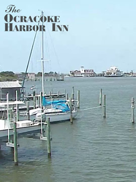 Ocracoke Harbor Inn Webcam, Outer Banks NC