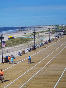Playland Ocean City, NJ Boardwalk Cam