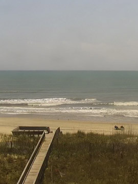 Surfchex Surf Webcam, Hatteras Island, Outer Banks NC
