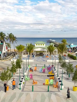 Anglin's Square Webcam, Lauderdale-By-The-Sea, Florida