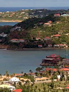 St. Barts Live Webcam - Plaine de St-Jean, Caribbean Islands