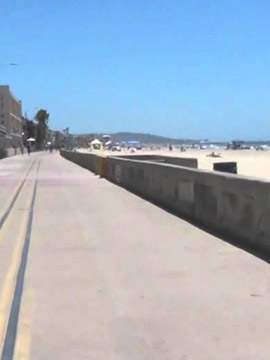 Mission Beach Boardwalk Live Webcam San Diego, CA