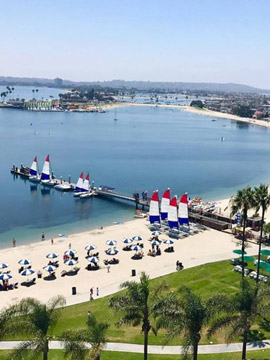 Catamaran Resort Hotel Live Webcam San Diego, CA
