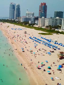 Flyover Miami Beach FL