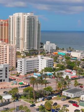 Flyover Fort Lauderdale FL