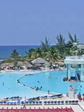Grand Palladium Jamaica Resort Infinity Pool Webcam Caribbean Islands
