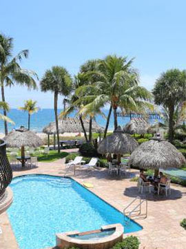High Noon Resort Pool Webcam, Lauderdale-By-The-Sea, Florida
