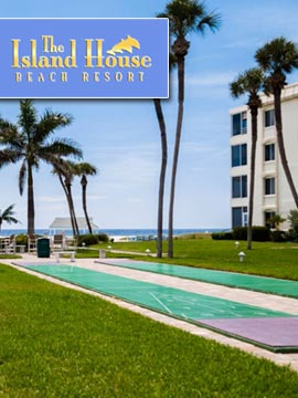 Island House Beach Resort Courtyard Cam