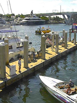 15th Street Fisheries Lauderdale Marina Dock Cam