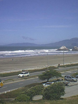 Ocean Beach Live Webcam San Francisco CA
