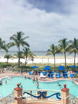 Pink Shell Beach Resort Poolside Cam