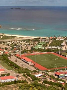 St. Barts Live Webcam - Plaine de St-Jean Caribbean Islands
