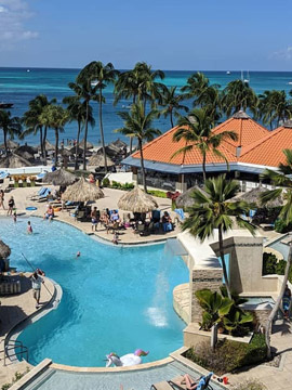 Playa Linda Beach Resort Pool Cam Aruba Caribbean Islands