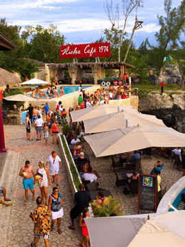 Live Cam at Rick's Cafe in Jamaica Caribbean Islands