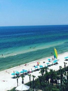 Sandpiper Beacon Beach Resort Live Webcam Panama City Beach, Florida