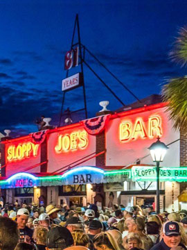 Sloppy Joes Live Webcam, Key West, Florida Keys