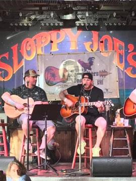 Sloppy Joes Live Stage Webcam, Key West, Florida Keys