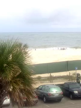 Spanky's Beachside Live Webcam, Tybee Island, Georgia