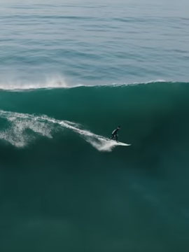 Surf Video La Jolla Beach San Diego, CA