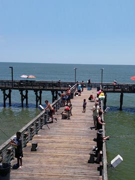 61st Street Fishing Pier Cam Texas