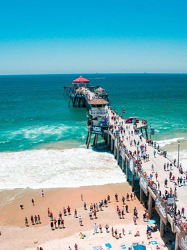 Huntington Beach Pier Webcam