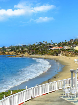 Live Cam from The Cliff Restaurant Laguna Beach CA