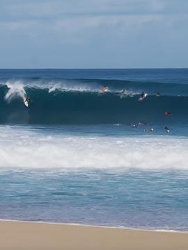 Ehukai Beach Banzai Pipeline Surf Highlights Oahu Hawaii