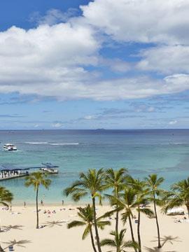 Hilton Hawaiian Village Waikiki Beach Cam