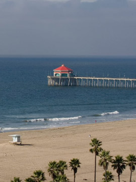 The Waterfront Beach Resort Live Cam, Huntington Beach CA