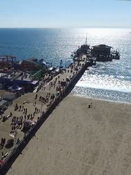 Santa Monica Live Beach Webcam