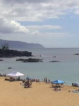 Waimea Beach, Oahu Hawaii Webcam