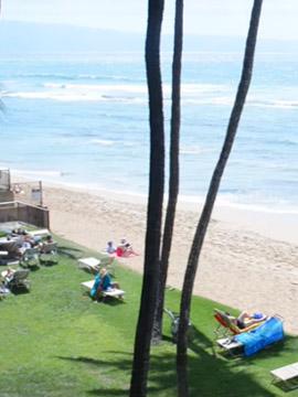 Maui Seashell Condo Live Beach Webcam, Hawaii